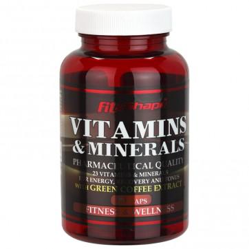 VITAMINS & MINERALS - 90 caps