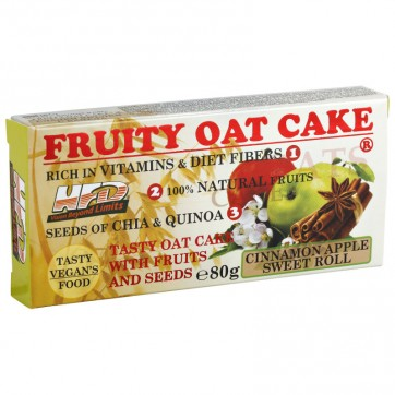 Fruity Oat Cake ® 80g - Apple/Cinnamon