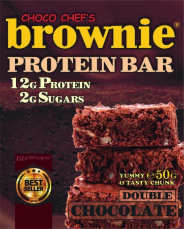 Brownie Protein Bar Double Chocolate 50g