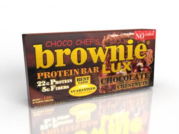 Brownie LUX Protein Bar Chestnuts