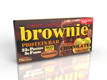 Brownie Protein Bar Chocolate Orange