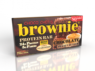 Brownie Protein Bar Chocolate Peanut Butter