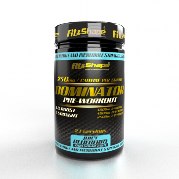 DOMINATOR Pre-Workout - Blueberry