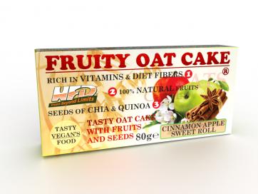 Fruity Oat Cake Apple Cinnamon