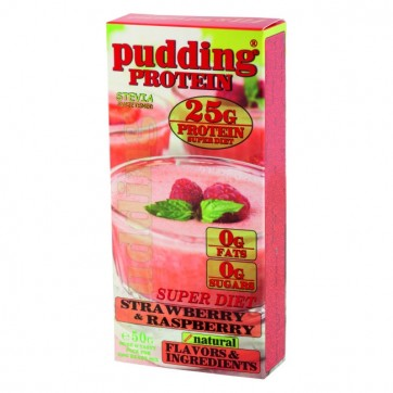 Protein Pudding Super Diet - Strawberry Raspberry