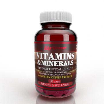 VITAMINS & MINERALS + Green Coffee