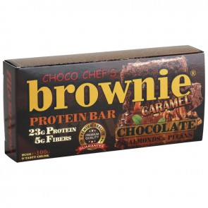 BROWNIE ® PROTEIN BAR - CARAMEL & ALMONDS - 100g