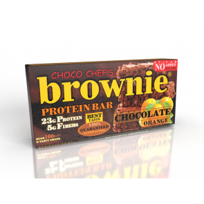 Brownie Protein Bar Chocolate Orange