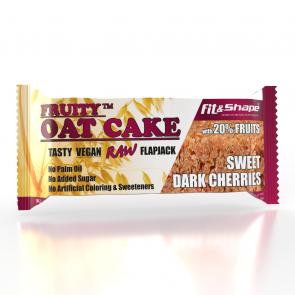 Fruity OAT Cake - Sweet Dark Cherries - 80g