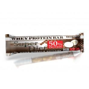 SUPER DIET Protein Bar 50% - Coconut - 50g