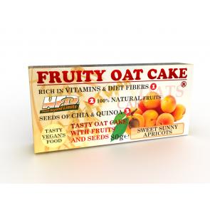 Fruity Oat Cake Apricot