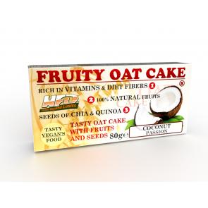 Fruity Oat Cake Coconut