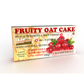 Fruity Oat Cake Cranberries