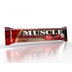 MUSCLE Protein Bar 30% - Red Fruits Yogurt - 70g