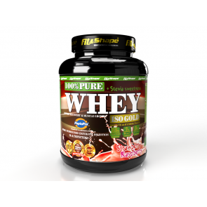 Pure Whey Iso Gold - Raspberry Strawberry